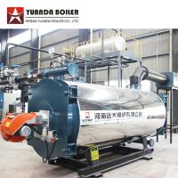 China 700KW Horizontal Three Pass Oil Gas Fired Thermal Oil Boiler Price on sale