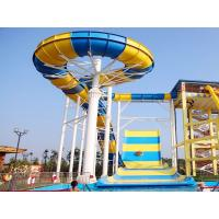 China Giant Boomerang Water Slide For Family / Outdoor Water Park Equipment wholesale