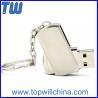 China Mini Metal Twister Pen Drives 2GB 4GB 8GB 16 GB 32GB Free Logo Printing wholesale