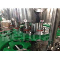 China 3.8KW Automatic Bottle Filling Machine , Pet Bottle Water Bottling Equipment on sale