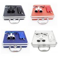 China 2.5times Colorful Dental Surgical Binocular Magnifying Loupe with LED Light on sale