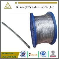 China Galvanized Steel Wire Rope for Control Cable on sale