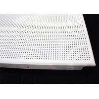 China Decorating Acoustic Ceiling Tiles , Clip In Suspended Ceiling Tiles wholesale