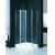 Corner Glass Shower Enclosure 1000 X 1000 Square Shower Stall Pivot Door
