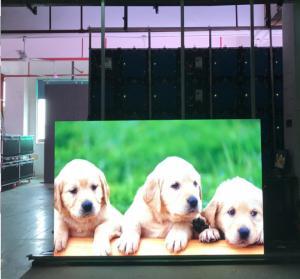 China Customize Pixel Led Display Video Wall , Led Video Wall Panels 1200cd/sqm Brightness wholesale