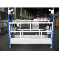 China 10M Safe ZLP630 Aluminium Alloy Rope Suspended Platform Cradle Swing Stage wholesale