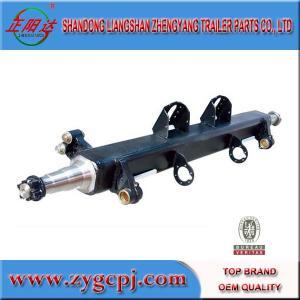 China 16ton German style trailer axle tube wholesale