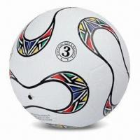 China Promotional Soccer Ball, Made of Rubber, Customized Logos are Accepted wholesale