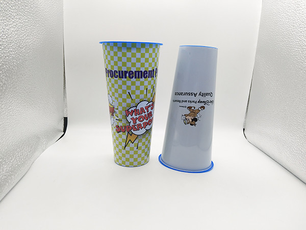 Quality Custom Shape Food Grade 3D Lenticular Cup High Resistant To Grease for sale