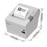 China Epson USB Thermal Receipt Printer 50-60Hz With 203dpi * 203dpi Density wholesale