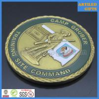 Camp Gruber Training Site Command Great Seal of The State of Oklahoma coin 2