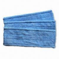 China 450gsm Microfiber Mop Pad-A, Available in Length of 45cm,Commercial and Janitorial on sale