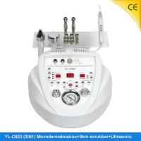 China Untrasonic Skin Scrubber Diamond Home Microdermabrasion Machine For Face Wrinkle Removal YL-C603 wholesale