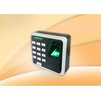 China Small Size Biometric Access Control Devices With Keypad / Rfid Card Reader wholesale