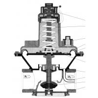 China Aluminum Alloy Natural Gas Pressure Regulator Can Be Used With Solenoid Valve on sale