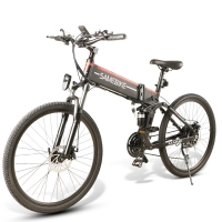 China Folding Full Suspension 40km Mountain Electric Bicycle wholesale