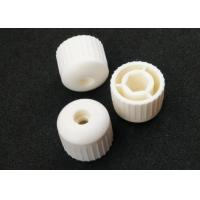 RAL7035 Plastic Injection Molding Products Light Grey M22 Plastic Threaded Caps for sale