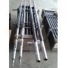 China Taladro triple Roces del cable metálico del barril de base del HQ NQ de PQ con el material del acero del alto grado wholesale