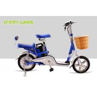 "14"" 30km / h 48V Battery Electric Bike Pedal Assist With LED Headlamp"
