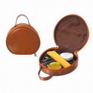 China Shoe shine kit, made of PU wholesale