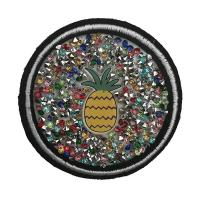 Buy cheap Excellent Craftwork Rhinestone Applique Patches For Clothing Durable from wholesalers