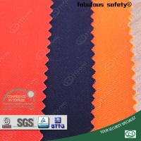 China Yulong supply 310gsm cotton and polyester fabric for safety coverall on sale