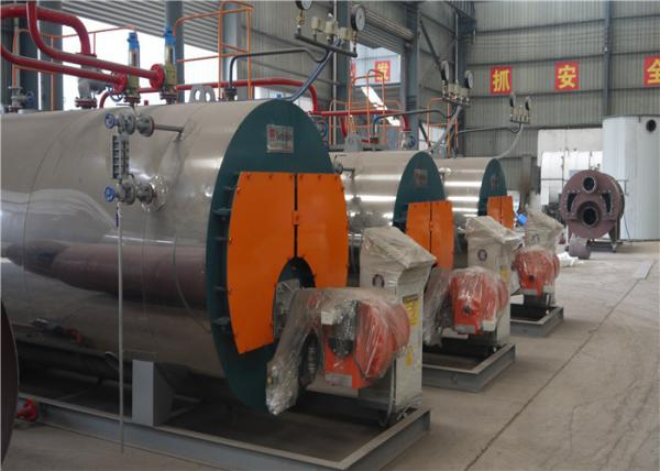 Quality Automatic Gas Steam Boiler , Industrial Fire Tube Oil Fired Steam Boiler for sale