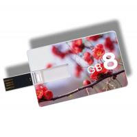 China Kongst Promotional Custom Logo usb Card, 100% Real Capacity Credit Card usb 2.0/3.0 Free S wholesale