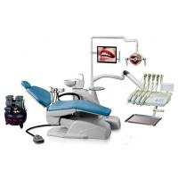 China Multi-function foot control Dental Chairs Equipment with Articulate headrest HK-630T on sale