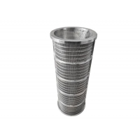 China ID200mm OD240mm H600mm Wedge Wire Screen Filter For Dewatering Machine wholesale