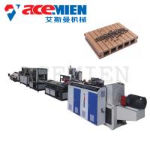 China Decking Board Wood Plastic Composite Production Line 60~500kgs/H Durable wholesale