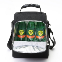 China 600D Heather Polyester Lunch Cooler Bag wholesale