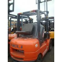 China Used 3 ton heli forklift on a discount-well-functioned on sale