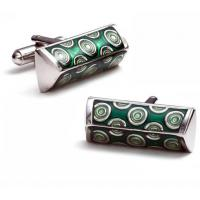 China Black & White Iron Funny Cufflinks Box Wholesale wholesale