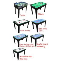 China 12 In 1 Multi Game Table Multicolor Design Table Tennis Pool Table wholesale
