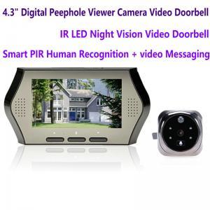 "4.3"" LCD Electronic Door Peephole Viewer Camera Home Security DVR Night Vision Video Doorbell Door Phone Access Control"