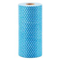 China 100 % Non Woven Fabric Kitchen Disposable Cleaning Cloth In Roll wholesale