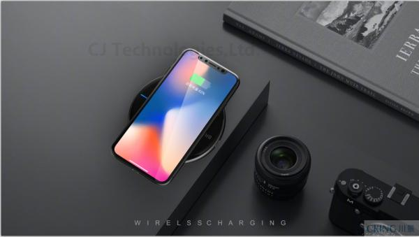 Quality Type C 5W Qi Wireless Phone Charger 10000mah With CNC Aluminum Bottom Side for sale