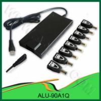 China 90W notebook universal car charger adaptor ALU-90A1Q wholesale