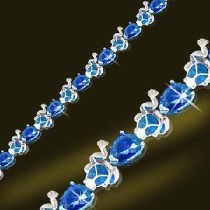 China 925 Silver Jewelry Opal Bracelet (BSB2049-18CM) wholesale