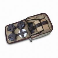 China Shoe Shine Set/Kit, Includes Shoe Polishes, Shoe Sponges, Shoe Brushes and Shoe Horn wholesale