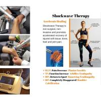 China Physiotherapy Equipments 22Hz Frequency  Shockwave Therapy Machine Knee Pain Relief wholesale