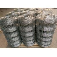 China Grassland Cattle Wire Fence For Ranch , Australia Style Hinge joint Knot wholesale