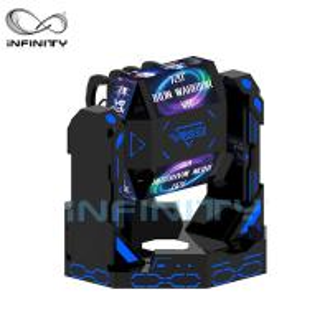 China 2 Person Iron Warrior 9D VR Roller Coaster Simulator VIULUX V8 Glasses wholesale