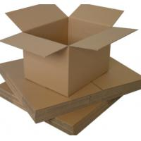 Quality Insert Paper Packing Box Adhesive Corrugated Shipping Box / Transport Packing Box for sale