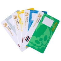 China Plastic 13.56 Mhz Contactless 4k Chip RFID Smart Cards on sale