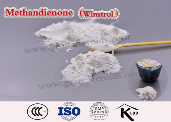 Quality 自然で注射可能な筋肉建物のステロイドメタンジエノン Winstrol CAS 72-63-9 for sale