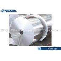 China Thermal Stability CuNi44 Copper Nickel Alloy Foils FOR marine equipment for sale