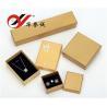 China Los joyeros de papel amarillos hechos a mano fijaron para el brazalete/el anillo/el almacenamiento pendiente wholesale