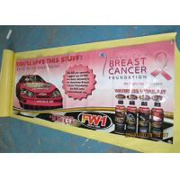 China Custom Pvc Advertising Banners Outside , Full Color Sports Vinyl Banners wholesale